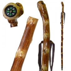 20603 HIKING STAFF WITH COMPASS/TEXTURE SURFACE