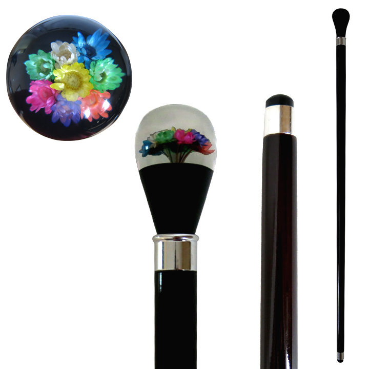 20817 IMITATED GERBERA FLOWER STICK/ BLACK SHAFT