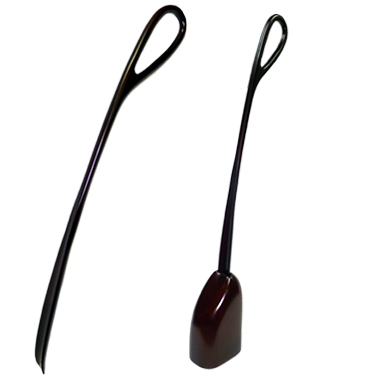 70110 CHERRY WOOD SHOEHORN