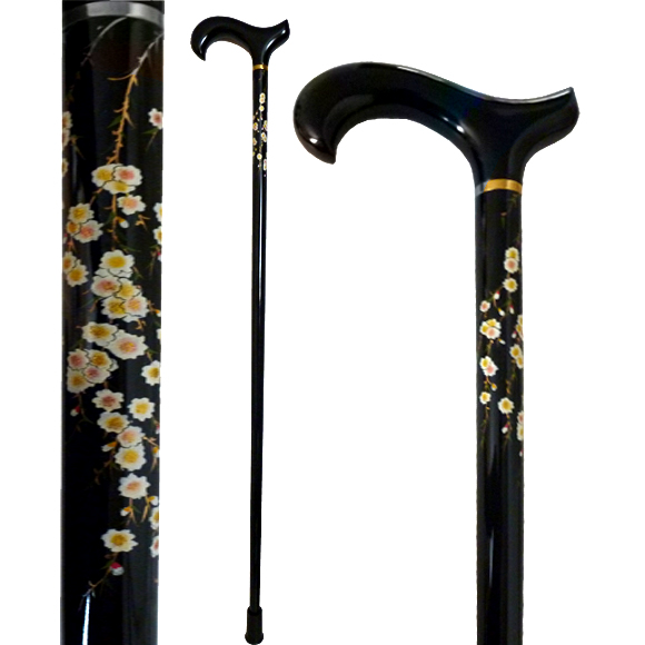 W-036 Hand Painted Sakura Stick