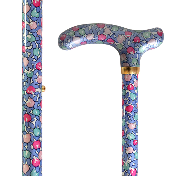 AL-086 Exotic Floral Stick with Adj. Height/ Morning Glory
