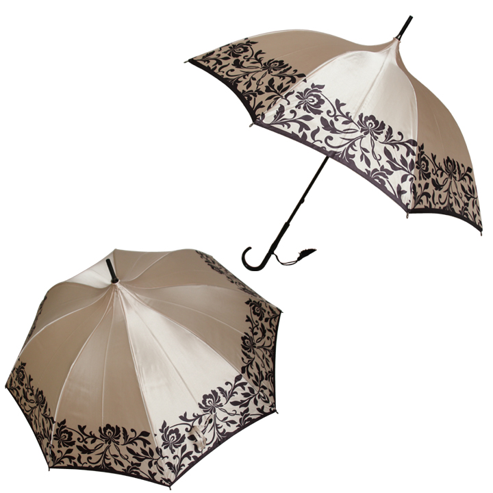 08002 PAGODA UMBRELLA/ SATIN COVER